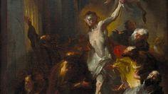 """Franz Anton Maulbertsch malte """"Christus erscheint dem heiligen Thomas""""  im Jahr 1764 für den Hochalter der Augustinerkirche St. Thomas in Brünn (Taxe bei 80.000 bis 120.000 Euro)."""