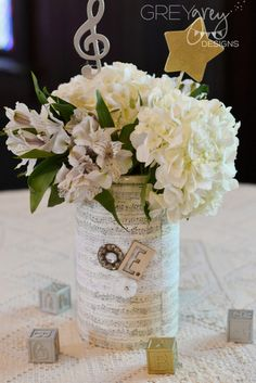 Vintage Shabby Chic Baby Shower Party Ideas | Photo 1 of 45 | Catch My Party
