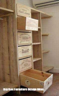 Top 10 Ideas For Diy Box Furniture Top Cool Diy Wine Crate