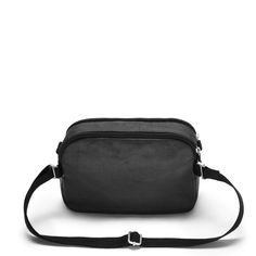 Loops for easy strap adjustment - wear cross body, around the waist or over a shoulder. Thing 1, Hip Bag, Vegetable Tanned Leather, Cross Body, Jet, One Shoulder, Essentials, Organic, Zipper