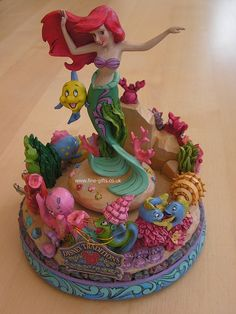 Disney Traditions: Ariel Under the Sea Figurine - Jim Shore #FineGifts #DisplayGiftFigurines