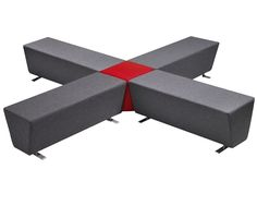 Cubist Modular Seating Furniture@Work, Budget Priced Office Furniture at Work, Chairs, Filers Choice of colours available Bench dims 123wx43dx45h(cm) £201.60 inc VAT