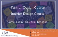 FREE TRIAL BATCH Creative Institute Of Fashion Technology