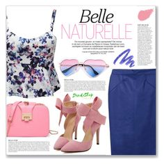 """belle naturelle (dendishop)"" by myduza-and-koteczka ❤ liked on Polyvore featuring Anja, Yves Saint Laurent and Bobbi Brown Cosmetics"