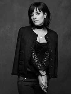 Chanel The Little Black Jacket ~ Lily Allen