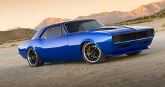 American Muscle Cars… 1967 Chevrolet Camaro Pro Touring