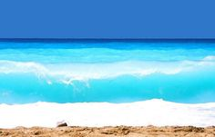 The amazing turquoise waters of Kathisma beach, Lefkada island ~ Greece Cool Pictures, Beautiful Pictures, Exotic Beaches, Seaside Beach, Travel Light, Greek Islands, Beautiful Beaches, Beautiful World, Places To See