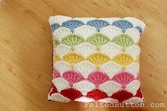 Ravelry: Paintbrush Pillow & Afghan pattern by Susan Carlson