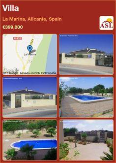 Villa in La Marina, Alicante, Spain ►€399,000 #PropertyForSaleInSpain