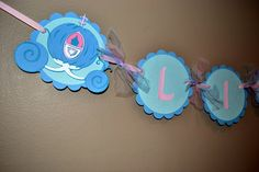 Cinderella Name Banner, Princess Birthday Banner by BeesDieCutDesigns on Etsy https://www.etsy.com/listing/180203713/cinderella-name-banner-princess-birthday