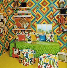 boys bedroom circa 1970s america - Google Search