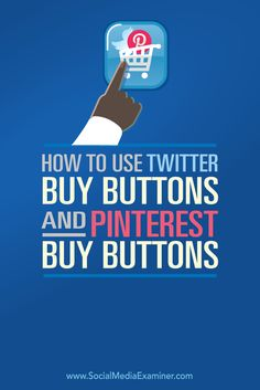 Do you want to sell your products on Twitter and Pinterest? Adding Buy buttons to your tweets and pins lets people purchase your products right from their social feeds. In this article I'll share how to add Twitter buy buttons and Pinterest buy buttons to your products.