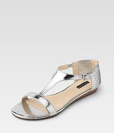 Belmondo Metallic-Sandalette