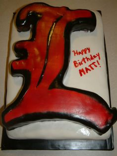 Cardinal Birthday Cake | cardinal cake this is for my husband s birthday he is a huge cardinal ...