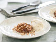 E: Healthy Kickstart    Crustless Apple Pie with Granola Frozen Yogurt