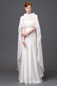 85 abiti da sposa invernali per il 2015: il freddo si fa glamour! Image: 16