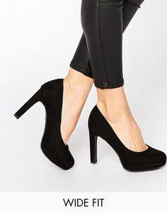 Image 1 - New Look - Escarpins larges à talons