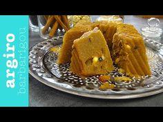 Σιμιγδαλένιος χαλβάς εύκολος και γρήγορος από την Αργυρώ Μπαρμπαρίγου | Κλασικό, νηστίσιμο γλυκό. Καβουρντίστε αρκετά το σιμιγδάλι να μοσχομυρίσει το σπίτι! Greek Sweets, Greek Desserts, Kinds Of Desserts, Greek Recipes, Vegan Recipes, Cooking Recipes, Non Chocolate Desserts, Halva Recipe, Tv Chefs