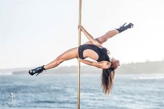 Pole Picture of the Day: Bad Kitty USA Brand Ambassador Michelle Shimmy from Pole Dance Academy. Photography by Justin Tran Photography. #BKPPOD #BadKittyPride Submit your photos here: www.badkitty.com/submit