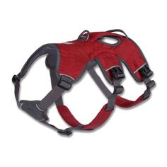 Ruff wear Web Master Harness, Medium, Red Currant