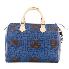 3744904a0ce1 View this item and discover similar top handle bags for sale at - This authentic  Louis Vuitton Speedy Handbag Limited Edition Kusama Monogram Town Canvas 30  ...