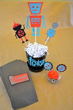 Robot Birthday Party