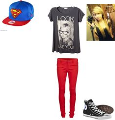 """""""my tomboy outfit"""" by alycia-loves-food ❤ liked on Polyvore"""