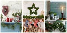 30 Country Ways to Add Christmas Cheer to Your Mantel. You'll fall hard for these Christmas ledges.