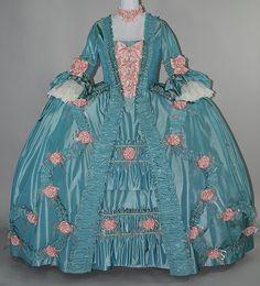 Madame Pompadour 18th Century Robe a la Francaise - Front
