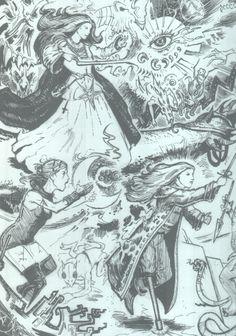 Del Monster's Alphabet, penúltima publicación de Goodman Games para #clásicosdelmazmorreo y otros juegos de #rol