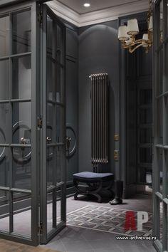 Фото интерьера входной зоны дома в американском стиле