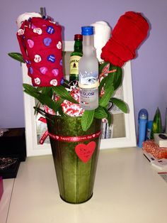 """DIY Valentines Day gift for him. """"You Comfort Me"""""""