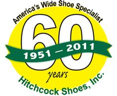 Wide shoes, Hitchcock shoes, Wide width