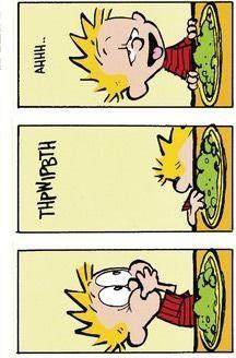 Calvin And Hobbes That Discolored Spot Da  Calvin Y Hobbes