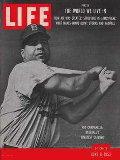 Roy Campanella - Life Magazine [United States] (8 June 1953)