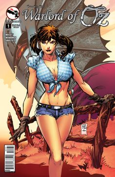 Grimm Fairy Tales Presents: Warlord of Oz (cover C - Lashley) - Westfield Comics Grimm Fairy Tales Comic, Grim Fairy Tales, Free Comic Books, Comic Books Art, Comic Art, Book Art, Dorothy Gale, Comic Book Collection, Vegvisir