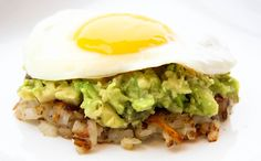 Egg with Avocado hash - How To Eat Eggs For Dinner -- And Why You Must