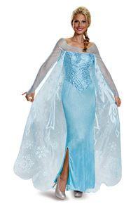 Frozen Elsa Prestige Adult Womens Costume - 354909 | trendyhalloween.com #womenscostumes