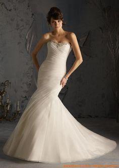Schlicht Meerjungfrau Sexy Brautkleider 2013