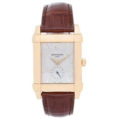 8bd93559051 Patek Philippe Yellow Gold Gondolo Manual Wind Wristwatch