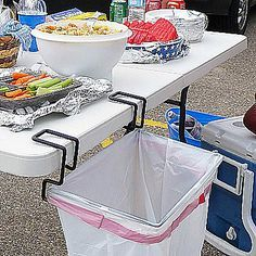 Portable Trash Bag Holder. Need this for camping