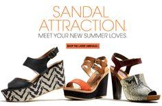 Sandal attraction.