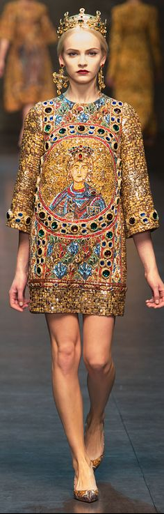 Dolce & Gabbana Fall 2013 rtw collection  via Très Haute Diva