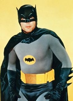 TIME: Adam West, the actor who became famous for his straight-faced portrayal of Batman in the TV . Adam West Batman, Im Batman, Batman Robin, Batman 1966, Batman Stuff, Batman Arkham, Superman, James Gordon, Nananana Batman