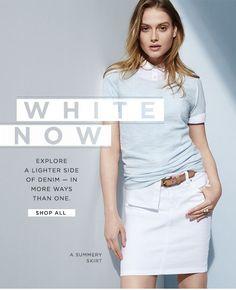 white now