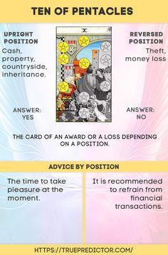 Ten of Pentacles tarot card meanings — True prediction