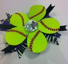 Make with real softballs