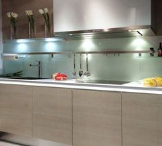 Backsplash Kitchen Modern move over, tile: 5 backsplashes made of sheet materials — kitchen
