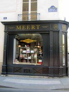 nic-nak castle: Paris Shop Fronts.