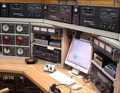 JA0JHA Best Ham Radio, Model Trains, Radio Stations, Desk Plans, Dreams, Dashboards, Tactical Gear, Diorama, Dream Cars